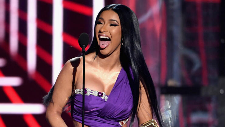 Cardi B Just Got A Giant New Offset Tattoo On Her Leg: Cardi B Reveals She Got Her 'Boobs Redone' After Kulture's