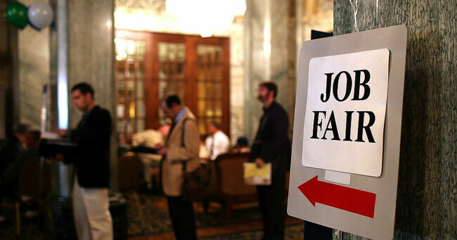 Job Fair (Justin Sullivan/Getty Images)