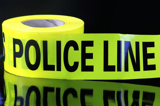Neon Crime Scene Caution Tape