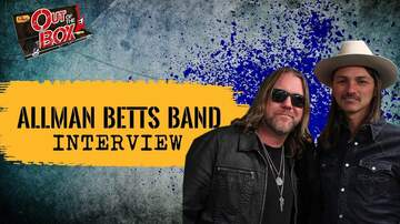 Out Of The Box - Devon Allman, Duane Betts Surprised Each Other With Their Musical Chemistry