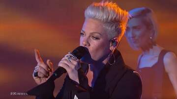 Lindsey Marie - WATCH: Pink Performs 'Hustle' On Jimmy Kimmel