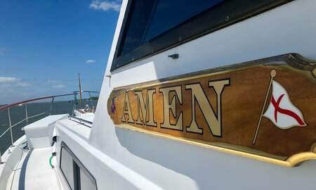 Uplifting - Florida Teens Praying For Rescue Found by Boat Named 'Amen'