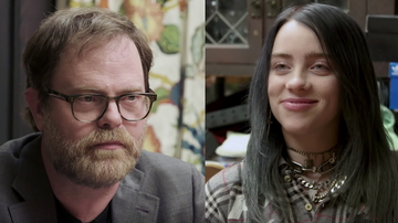 Cruz - Billie Eilish Takes The Office Quiz w/ Rainn Wilson