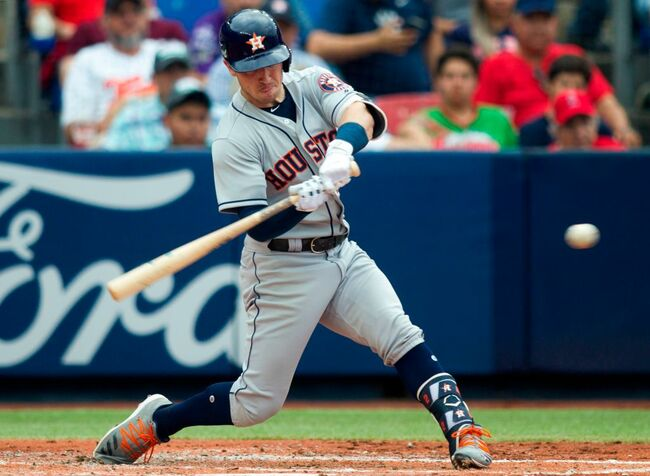 Astros Sweep Angels In Mexico