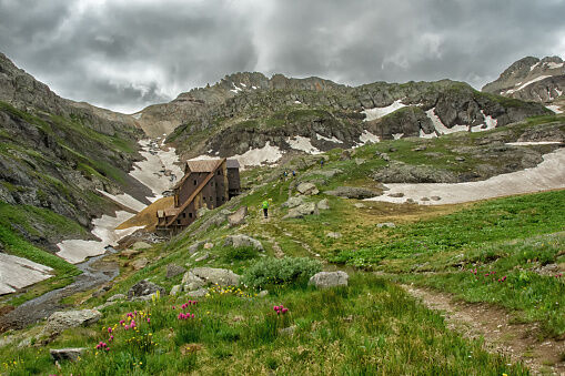 Mountain Hike to an Old Mine