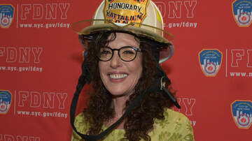 Jim Kerr Rock & Roll Morning Show - Shelli Sonstein Named Honorary FDNY Battalion Chief