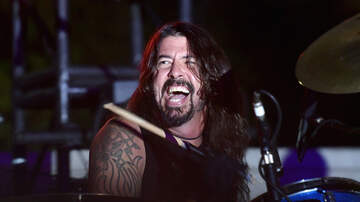 None - Dave Grohl Got Behind a Drum Kit This Weekend [VIDEO]