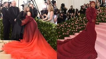 Shay Diddy - Fans Blast Cardi B For Copying Nicki Minaj's 2018 Met Gala Dress