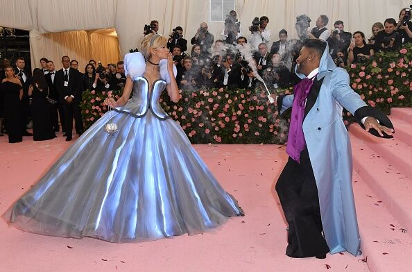 US-ENTERTAINMENT-FASHION-METGALA-CELEBRITY-MUSEUM-PEOPLE / Getty Images