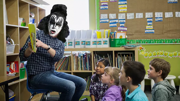 Sixx Sense - 6 Rockers Who Used To Be Teachers (And What They Looked Like Teaching)
