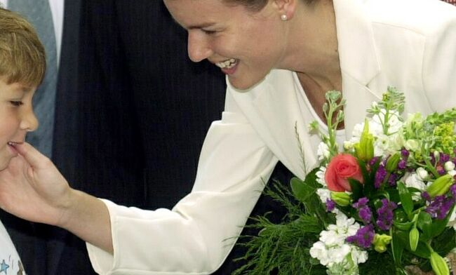 Belgian Prince Philippe and his wife Mathilde are