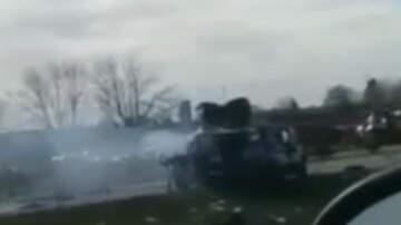 Weird News - Man Dies After Crashing Stolen Cop Car Into Semitrailer