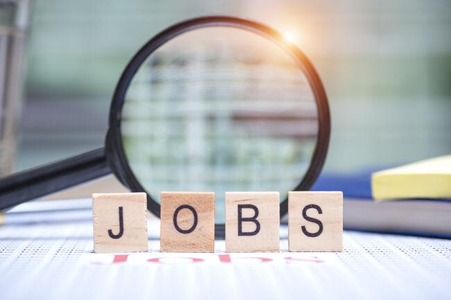 Jobs search concept