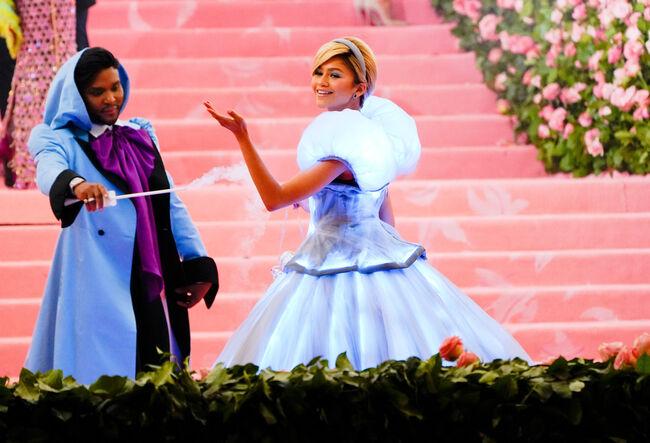 Lindsay Lohan Slammed Zendaya's Cinderella-Inspired Met Gala Look