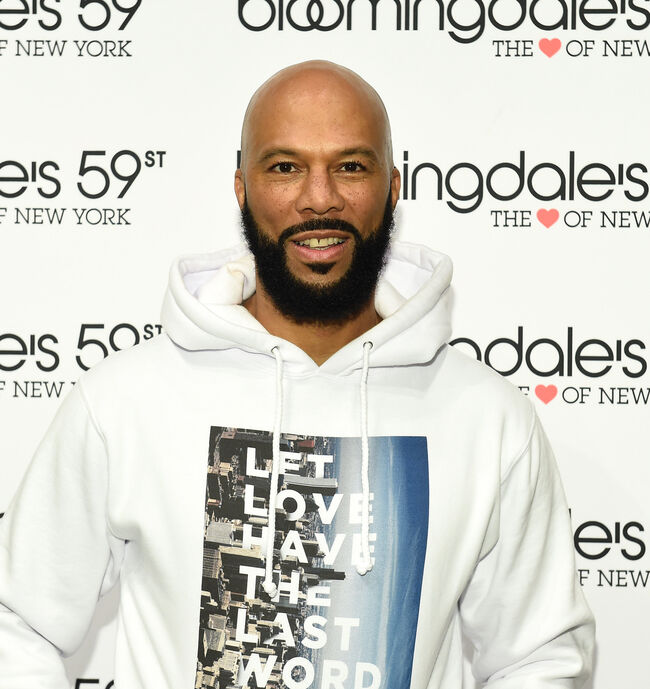 Common The Let Love Collection Launch And Book Signing At Bloomingdale's 59th Street's Studio 59