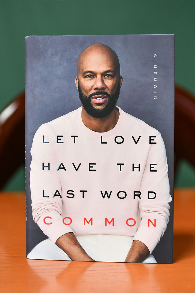 "Common Signs Copies Of His New Book ""Let Love Have The Last Word"""