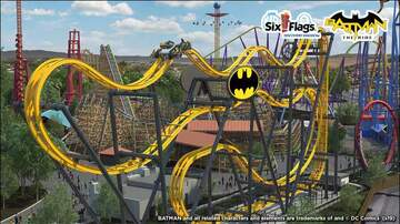 None - Check out the New BATMAN™: The Ride opening this Memorial Day Weekend!