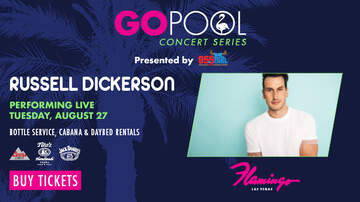 None - GO Pool Country Concert Series with 95.5 The Bull: Russell Dickerson