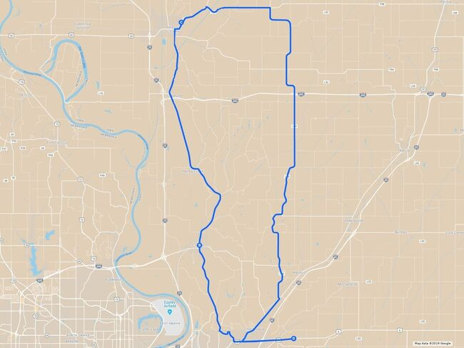 Monday, June 24 - Day 1 Route
