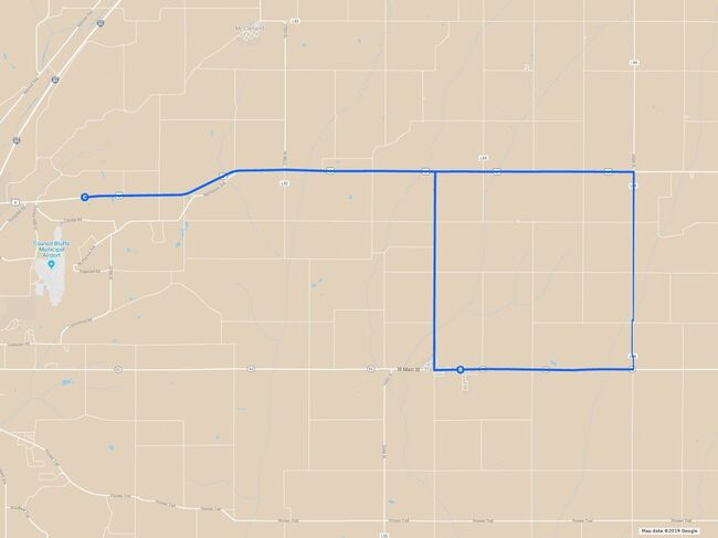 Wednesday, June 26 - Day 3 Route