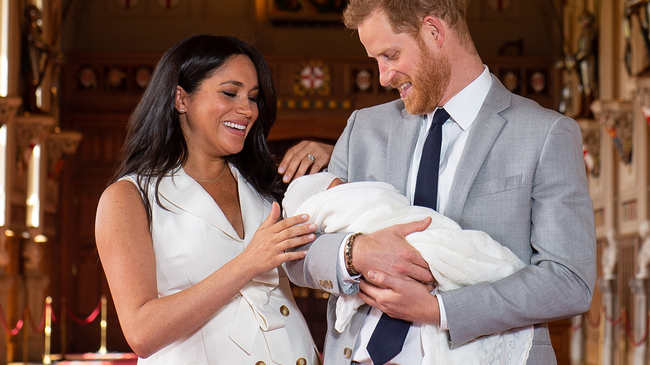 Gambler Wins Insane Amount Of Money Betting On Archie As Royal Baby Name