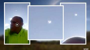 Coast to Coast AM with George Noory - UFO Appears in Facebook Live Video?