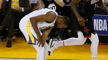 The A-Team - Kevin Durant Ruled Out For Remainder of Rockets Series
