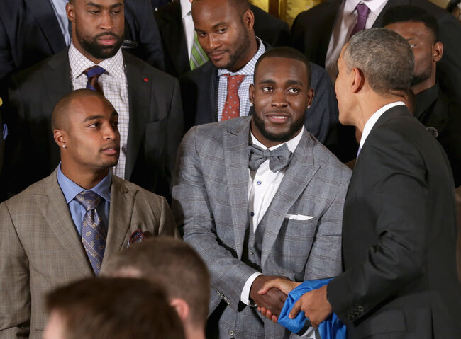 President Obama Hosts Super Bowl Champions Seattle Seahawks At The White House