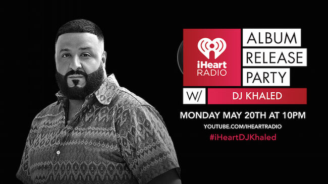 DJ Khaled iHeartRadio Album Release Party