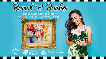 None - Brunch 'N' Brushes at Pinot's Palette