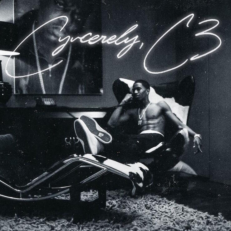 King Combs - 'Cyncerely, C3' Album Cover Art