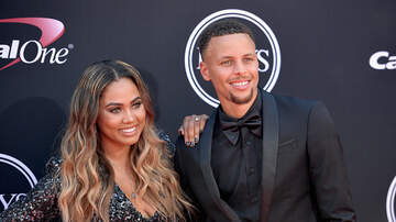 ya girl Cheron - Steph Curry shows his wife love and support.