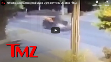 Jess Live - Offset Escapes Drive-by Shooting at an ATL Studio