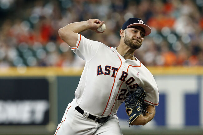 lowest price ec266 5a235 Corbin Martin Dazzles in Debut as Astros Beat Down Rangers ...