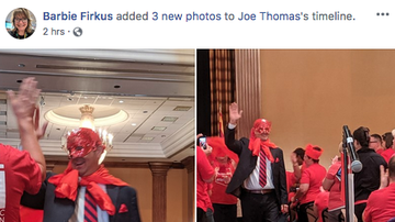 Mike Broomhead - RED4ED HAS A NEW SUPER HERO!