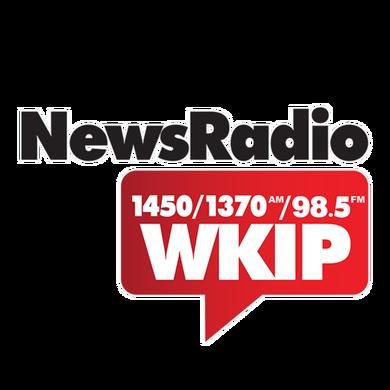 News Radio 1450 WKIP logo