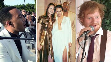 Pop Pics - 12 Celebrities Who Performed At Weddings