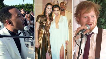 Headlines - 12 Celebrities Who Performed At Weddings