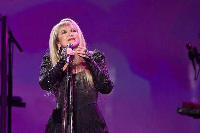 Rod Stewart and Stevie Nicks Perform at Madison Square Garden