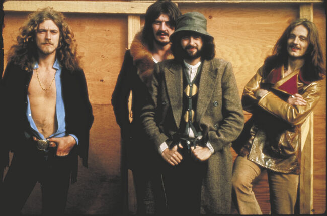 Led Zeppelin File Photos