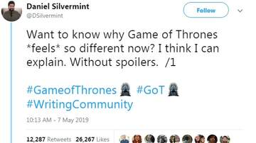 Jake Dill - Man Gives Insightful Reasoning Why GoT Season 8 *Feels* Different