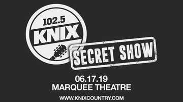 image for 102.5 KNIX Announces The 8th 'Secret Show' Coming To Tempe June 17th