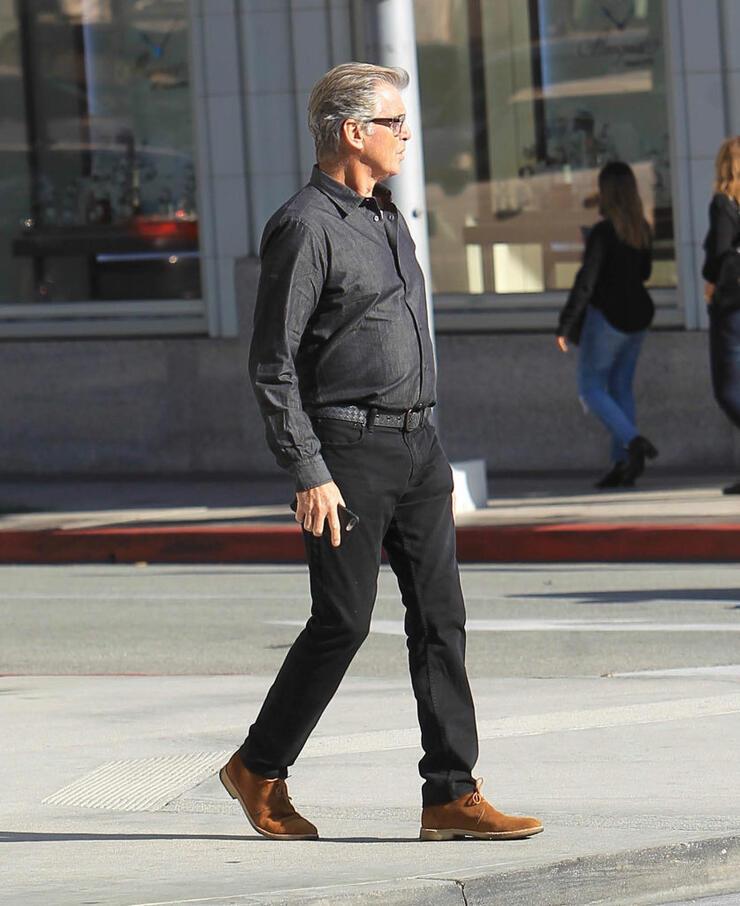 Celebrity Sightings in Los Angeles - December 21, 2018