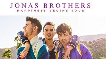 Dana Tyson - Jonas Brothers Reveal Official Track List for 'Happiness Begins'