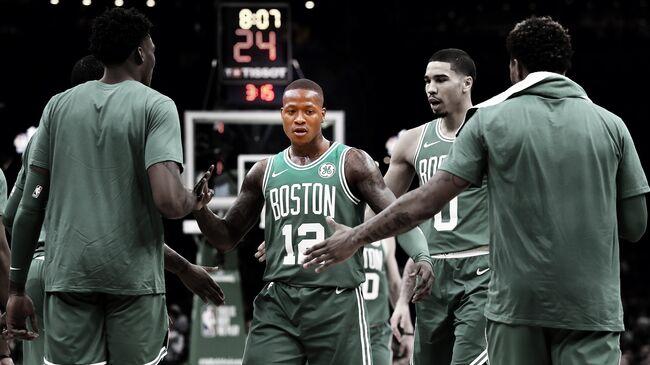 Los Angeles Lakers v Boston Celtics