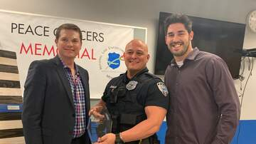 iHeartMedia & Freeman Injury Law First Responder Salute - Officer Jason Zangara - April 2019