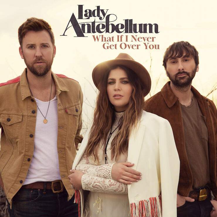 """Lady Antebellum - """"What If I Never Get Over You"""" Single Cover Art"""