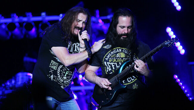Dream Theatre Performs In Rome