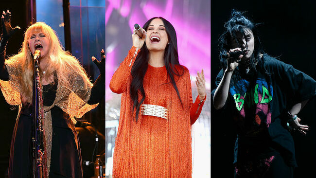 Billie Eilish, Kacey Musgraves + More Donate Items For 'Girls Rock' Auction
