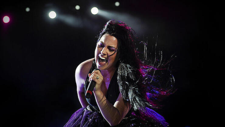 Evanescence's American lead singer and p